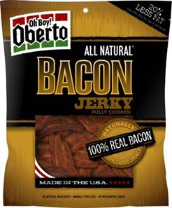 Oh Boy! Oberto Bacon Jerky