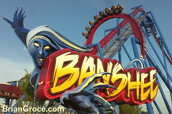 Banshee at Kings Island
