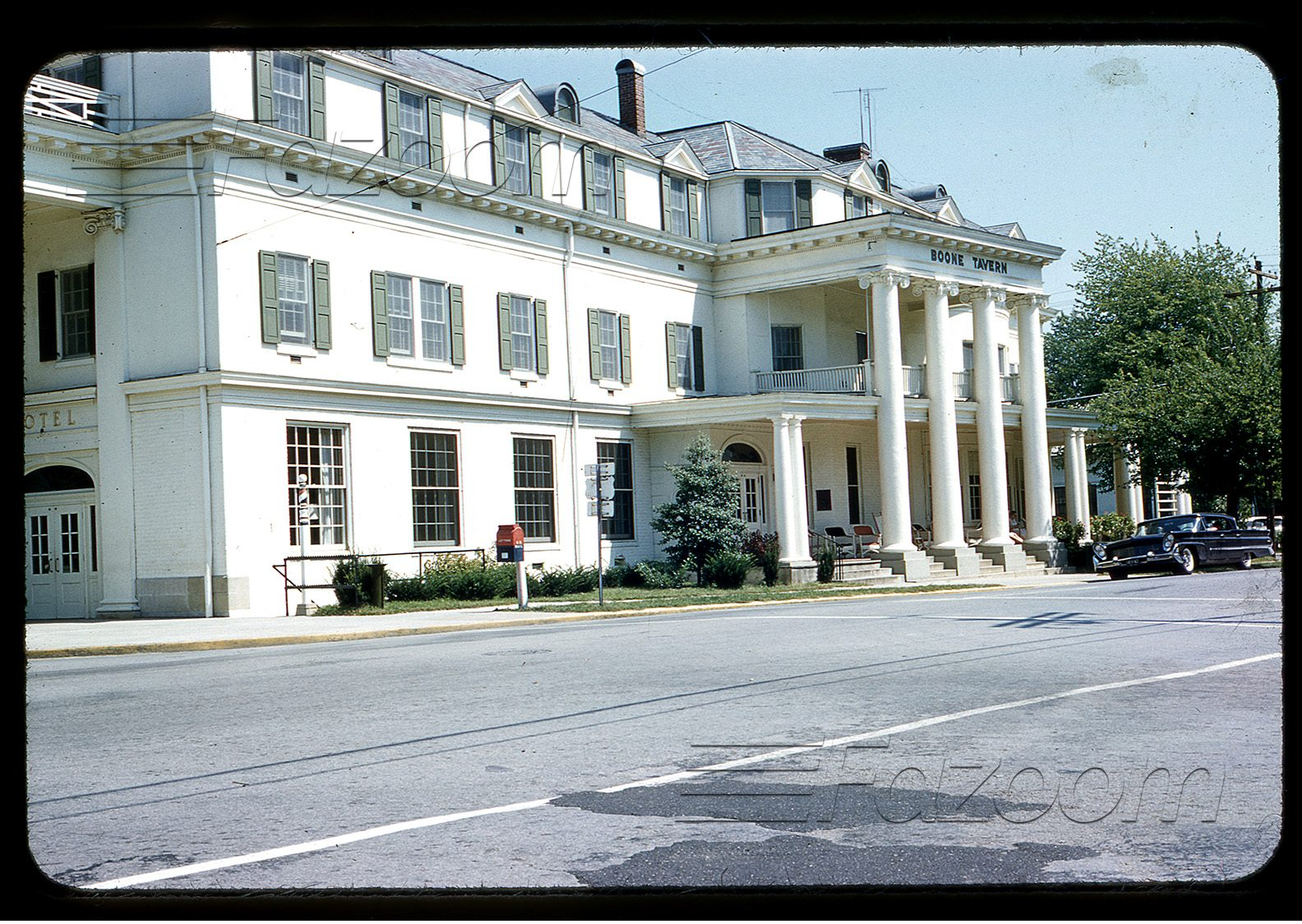 Historic Boone Tavern Hotel and Restaurant in Berea, Kentucky circa 1958